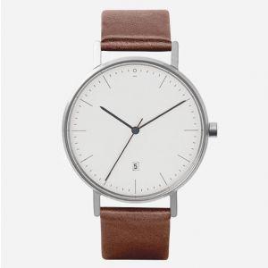Armbanduhr S004B Edelstahl | Braun