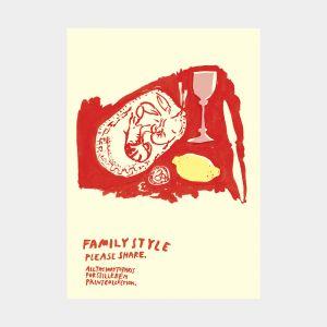 Print Lemon & Langoustine