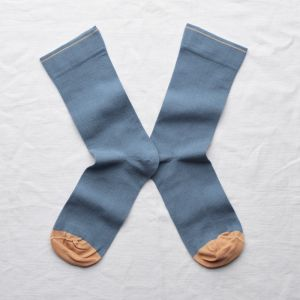 Socken Uni Bleu Paradis