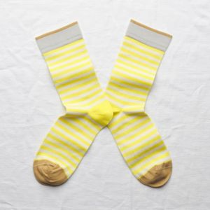 Socken Rayure Fluo