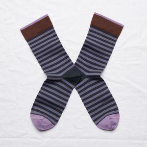 Socken Rayure Nuit