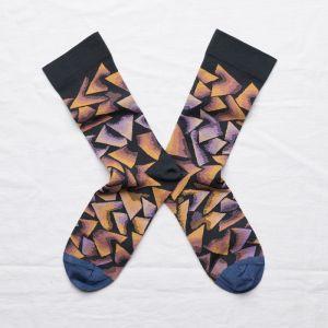 Socken Triangle Nuit