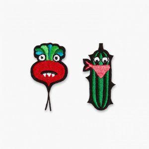 Patches Gurke und Rübe