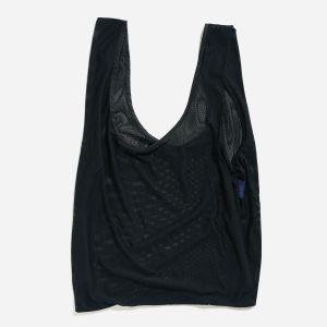 Einkaufstasche Mesh Black