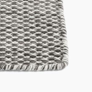 Teppich Moiré Kelim Grey