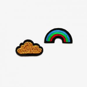 Patches Wolke/Regenbogen