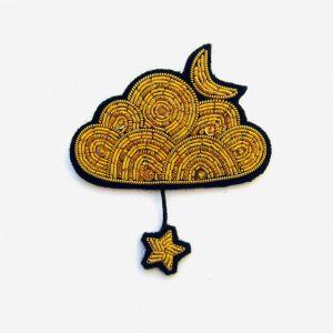 Brosche Goldene Wolke