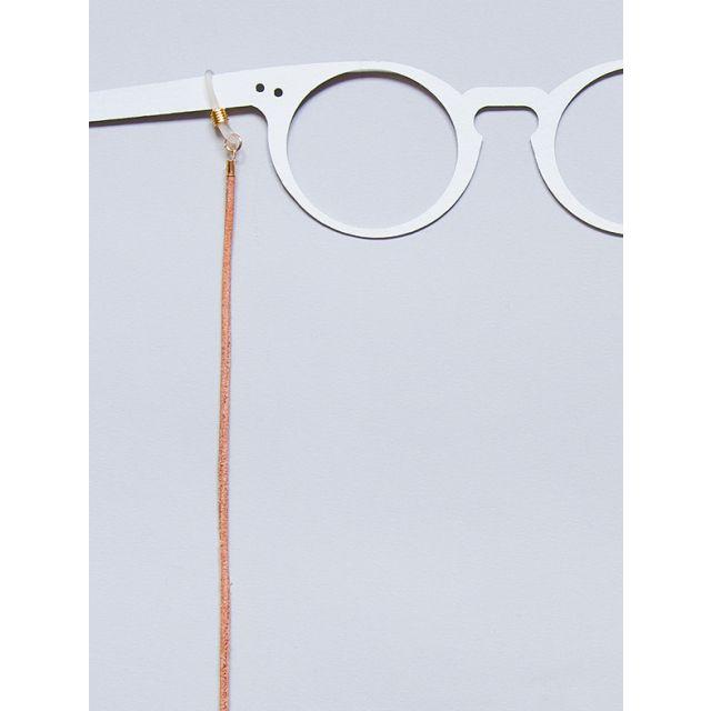 Brillenband Leder