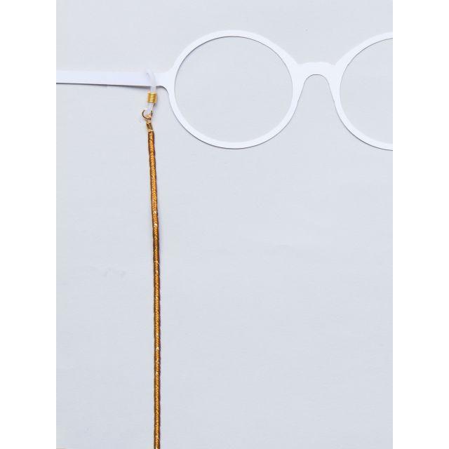 Brillenband Braid Senf