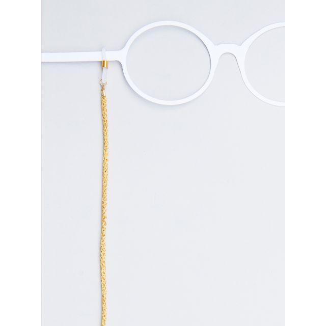 Brillenband Metallic