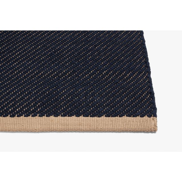 Teppich Bias Dark Blue
