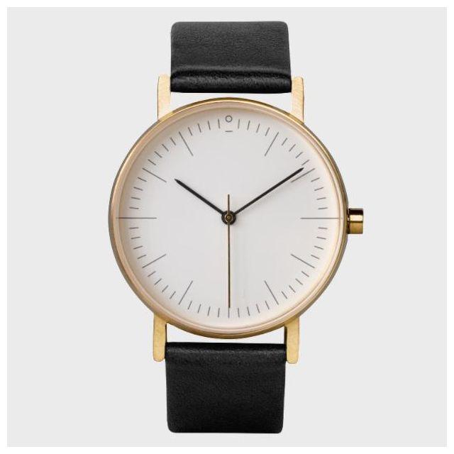 Armbanduhr S002GW Gold | Schwarz