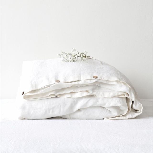Bettwäsche White