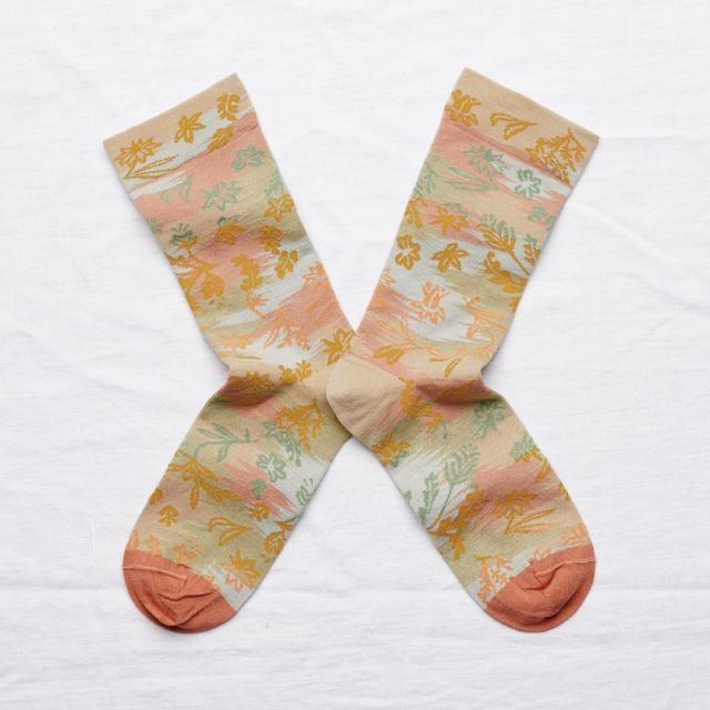 Socken Dominoté Sable