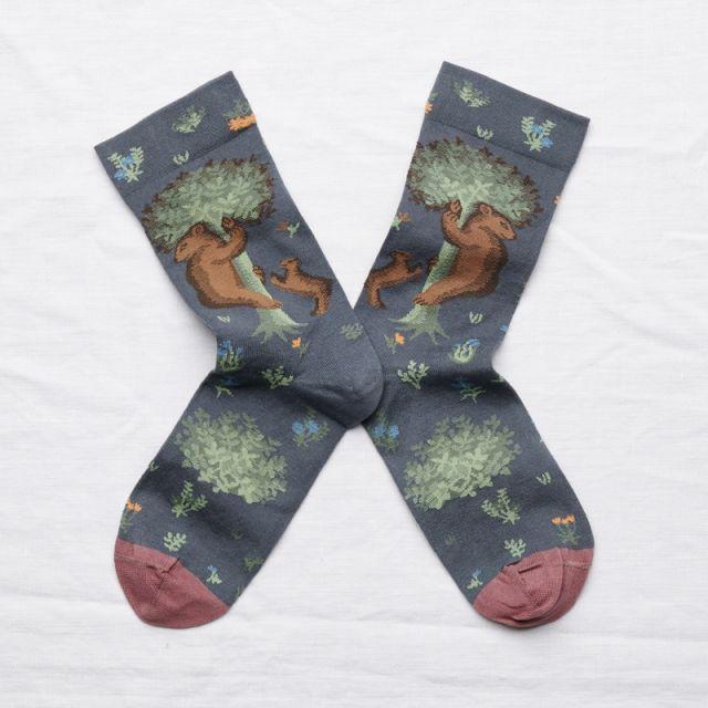 Socken Ours Acier