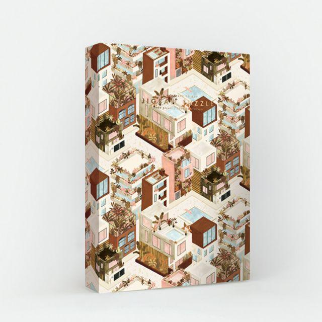 Puzzle City Terracotta