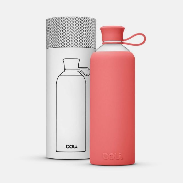 Trinkflasche aus Glas
