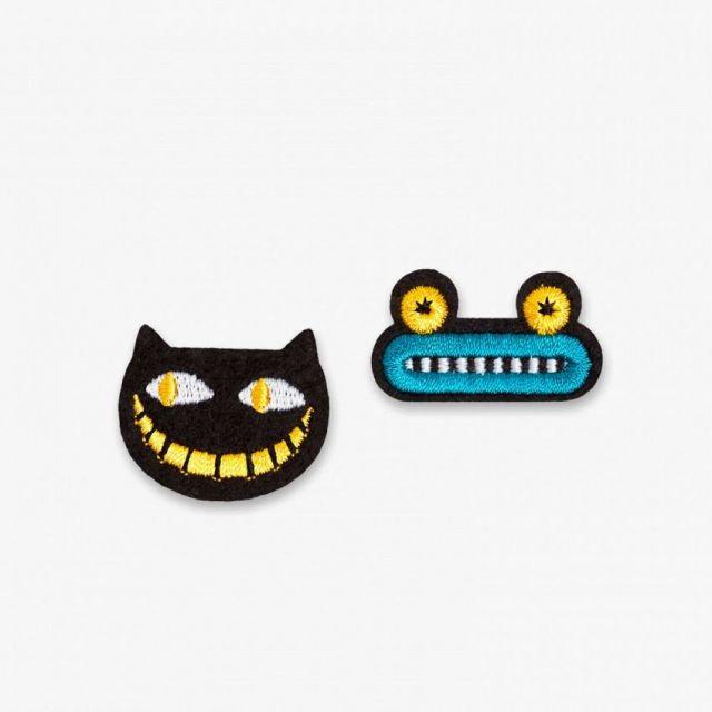 Patches Katze und Frosch