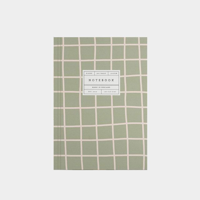 Notizbuch Green Grid