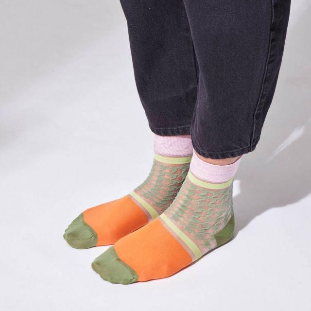Socken Symphonie Kaki