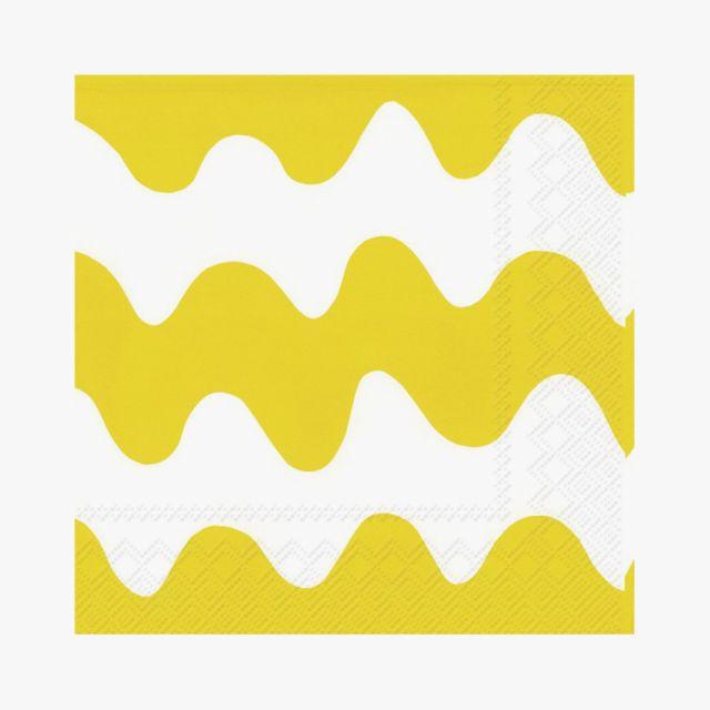 Lunchservietten Lokki Light Yellow