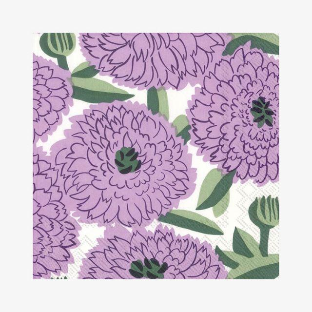 Lunchservietten Primavera Lilac