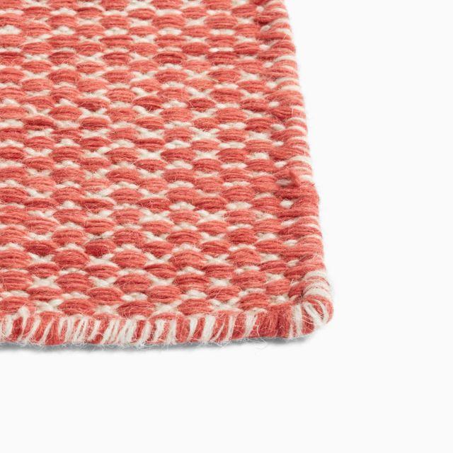 Teppich Moiré Kelim Coral