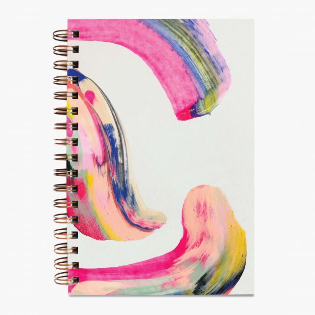 Journal Candy Swirl