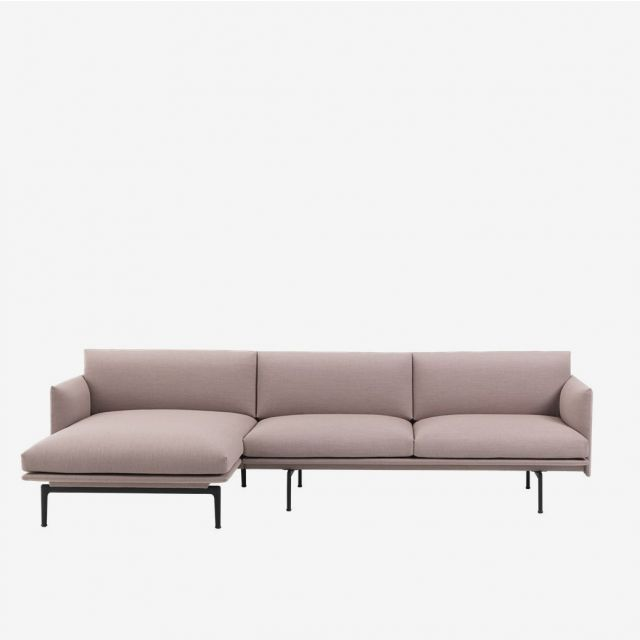 Sofa Outline Chaise Longue - Stoff