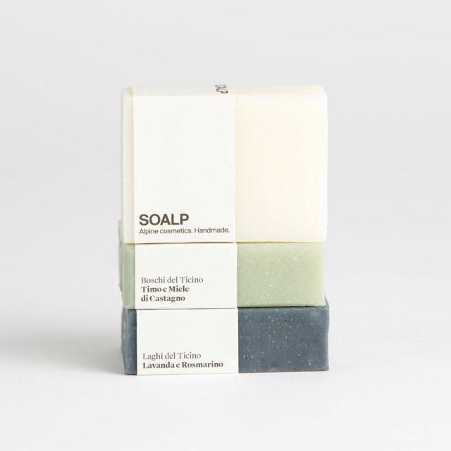 Handgefertigte Seife aus dem Tessin