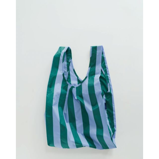 Einkaufstasche Periwinkle Stripe