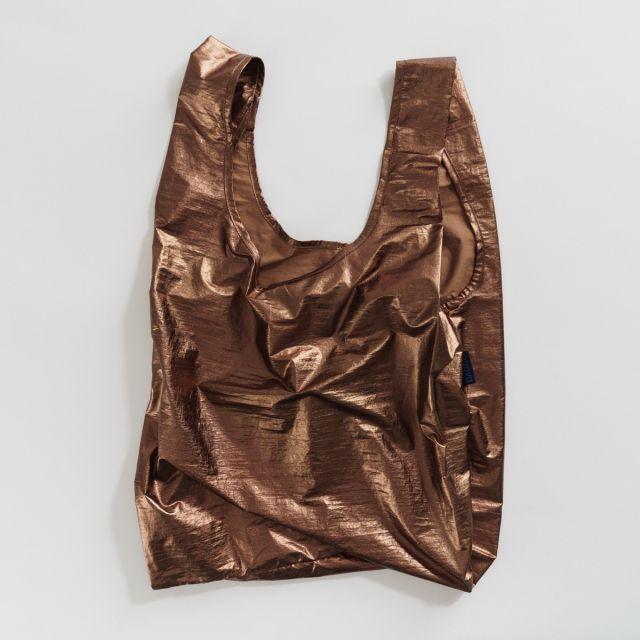 Einkaufstasche Metallic Copper