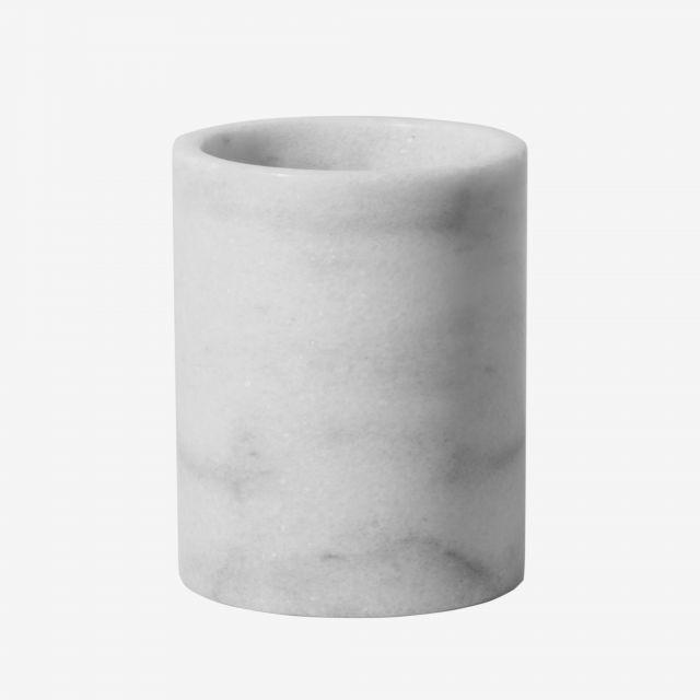 Utensilientopf Marmor