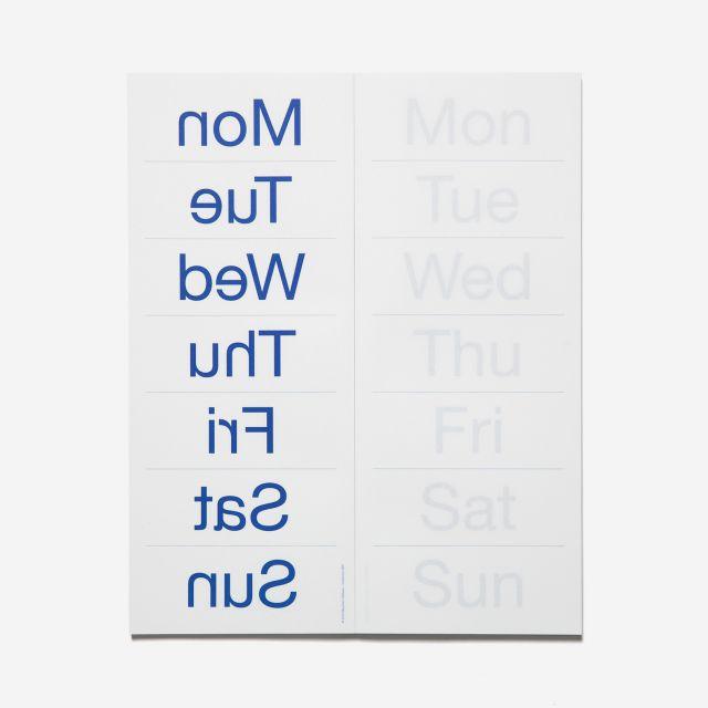 Wochenplaner Weekly