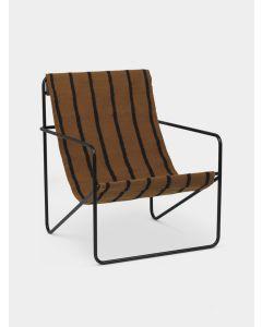 Desert Lounge Chair Black