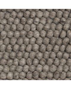 Teppich Peas Dark Grey