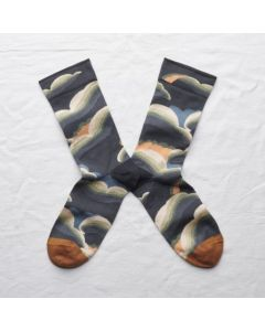 Socken Nuage Acier