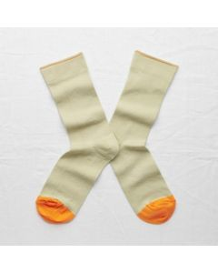 Socken Uni Sauge