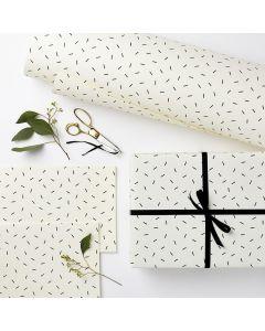 Geschenkpapier Confetti 3 mal 50X70cm