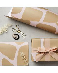 Geschenkpapier Giraffe 3 mal 50x70cm
