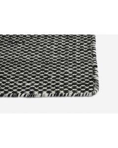 Teppich Moiré Black