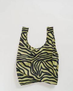 Einkaufstasche Olive Zebra
